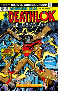 deathlok, marvel, movies, comic pressing
