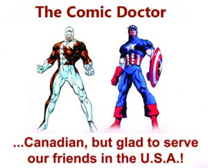 America and Canada Comic Book pressing by the Comic Doctor
