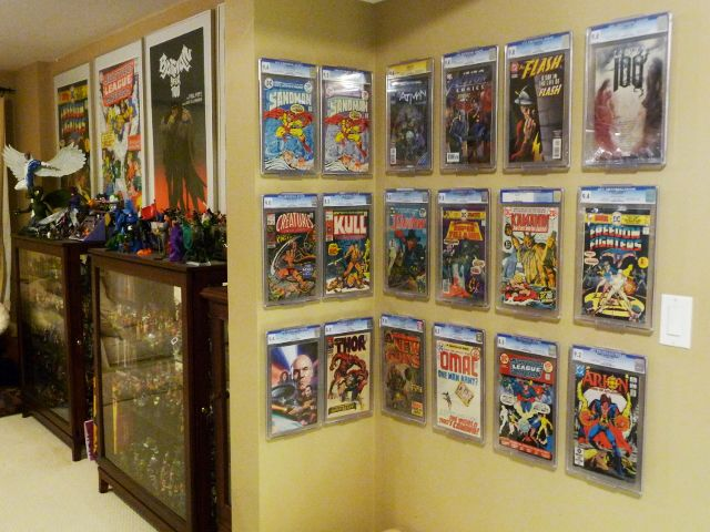How to effectively display slabbed comic books the comic doctor cgc pgx cbcs slabbed comic book solutioingenieria Choice Image