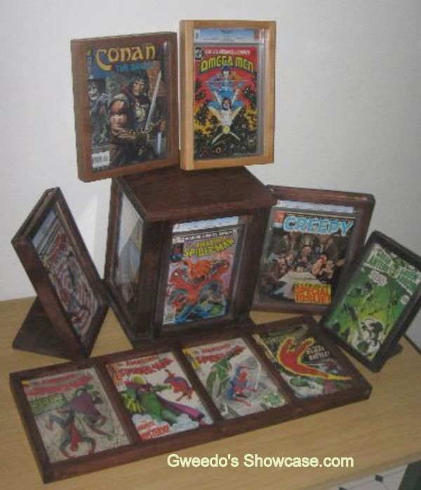 Slabbed Comic Books Cgc Pgx Cbcs Display Options From Gweedo S
