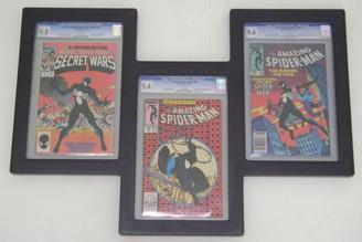 How to effectively display slabbed comic books the comic doctor slabbed comic books cgc pgx cbcs solutioingenieria Images