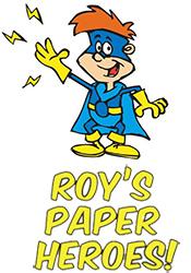 roys paper heroes